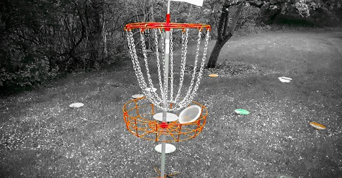 Disc Golf Putting Games