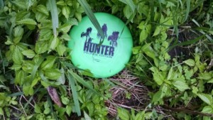 Legacy Hunter hiding in the brush