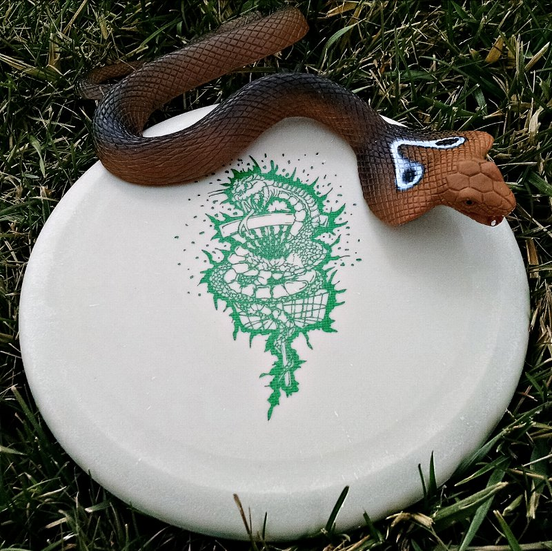 Reptilian Disc Golf Serpent Putter
