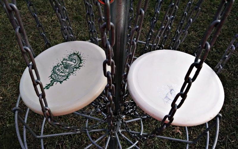 Reptilian Disc Golf Putters