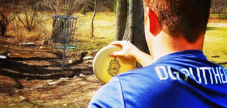 Disc Golf Stall Shot