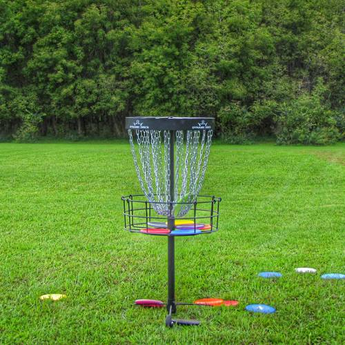 Disc Golf Putting Practice provides the repetition you need to improve your game