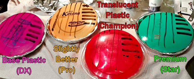 best disc golf plastic dyeing
