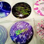 how to dye disc golf discs