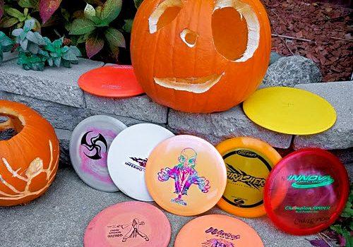 Halloween Disc Golf Bag Challenge