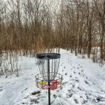 cold weather disc golf distance