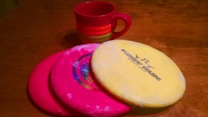 Cold disc golf discs