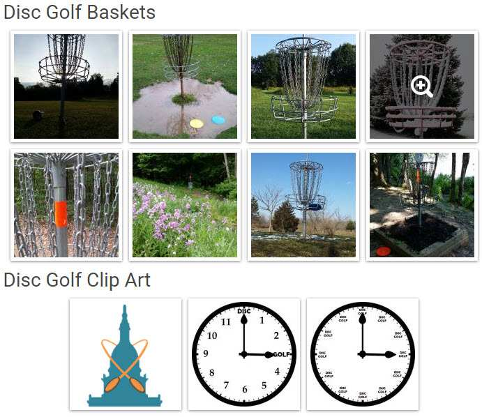 Disc Golf Stock Photos Pictures