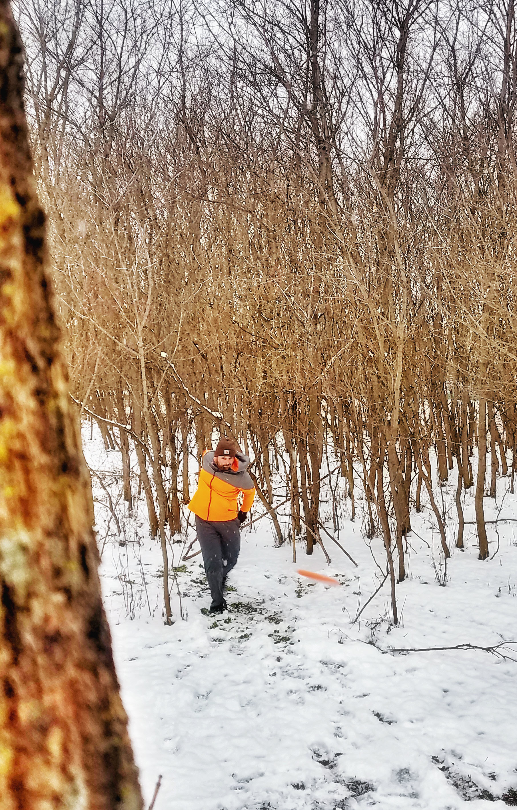 winter disc golf benefits
