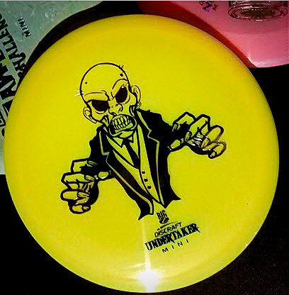 Discraft Mini Undertaker Big Z