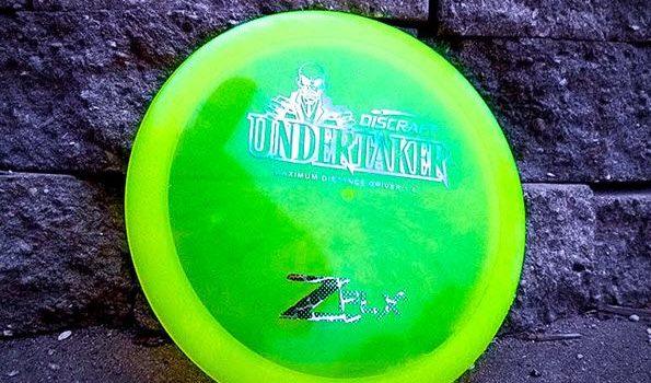 Discraft ZFLX Undertaker vs Z Undertaker vs Mini Undertaker