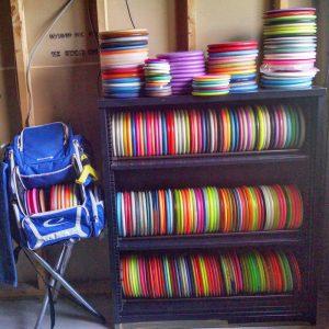 Disc Golf Shelf