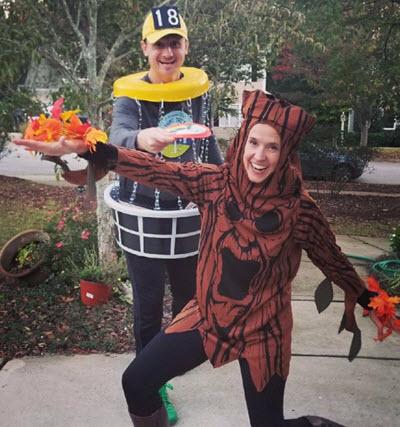 disc golf halloween costume