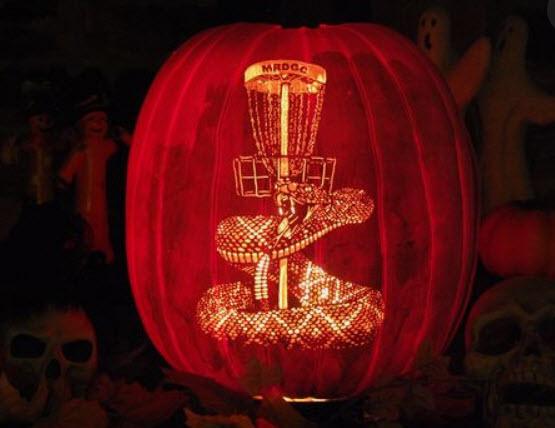 mrdgc disc golf pumpkin
