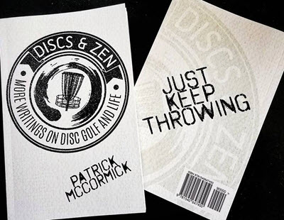 discs and zen disc golf book