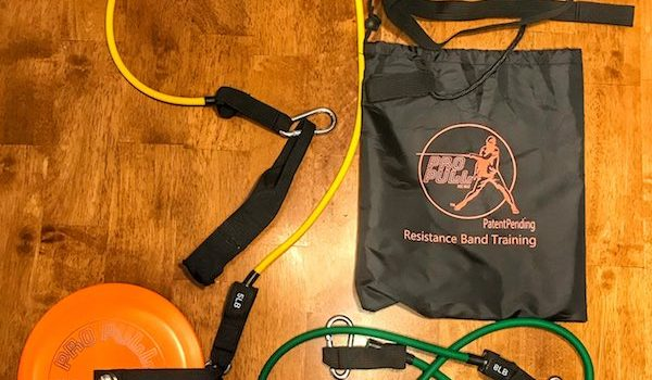 ProPull Disc Golf Resistance Band Training System