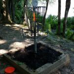 Disc Golf Basket Woods Hill