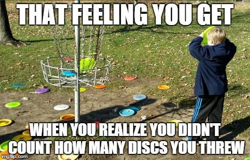 What disc did I throw?