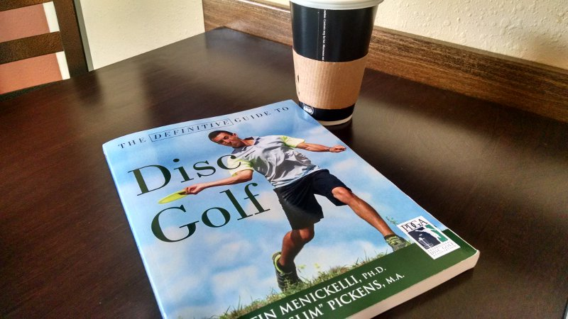 The Definitive Guide to Disc Golf Book