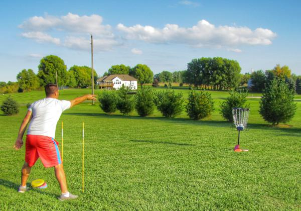 Disc Golf Putting Feedback