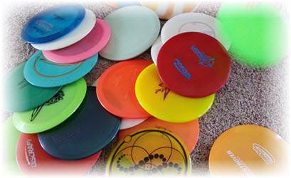 Lots Of Disc Golf Discs