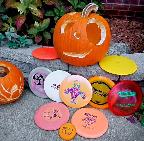 Halloween Disc Golf
