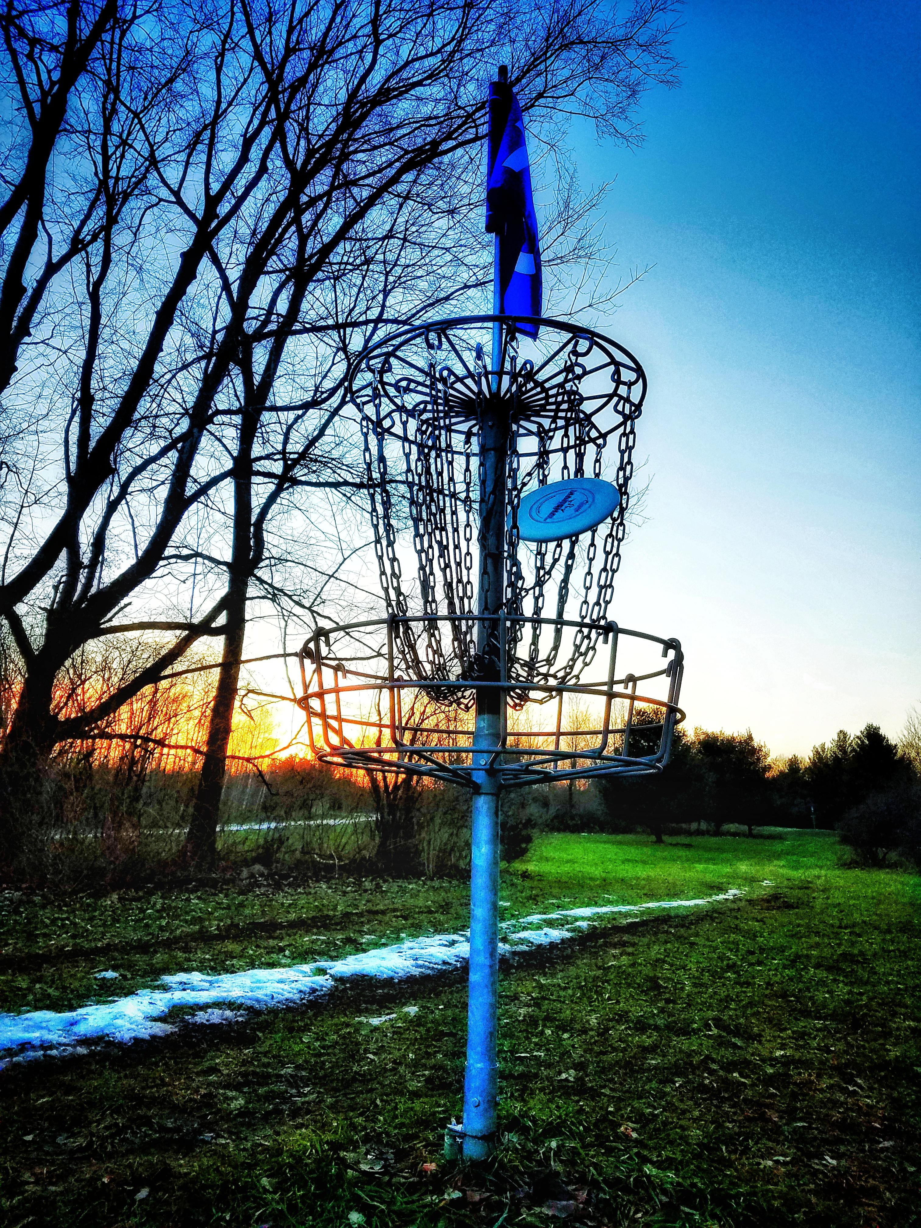 Cold Disc Golf Basket