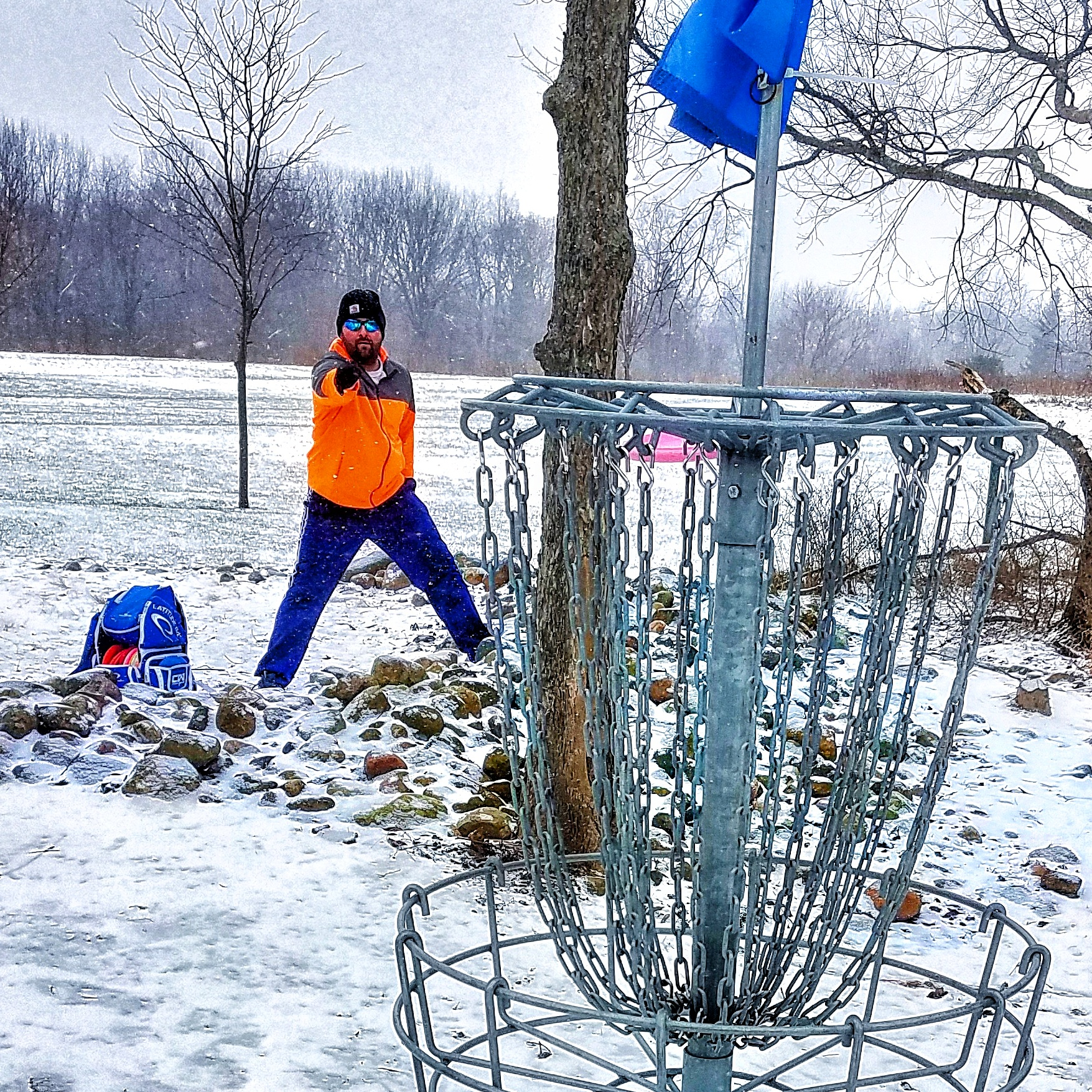 winter disc golf advice
