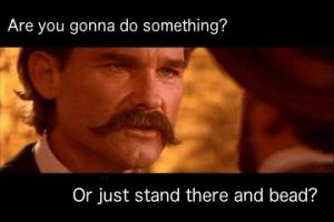 Even Wyatt Earp doesn't understand this feud