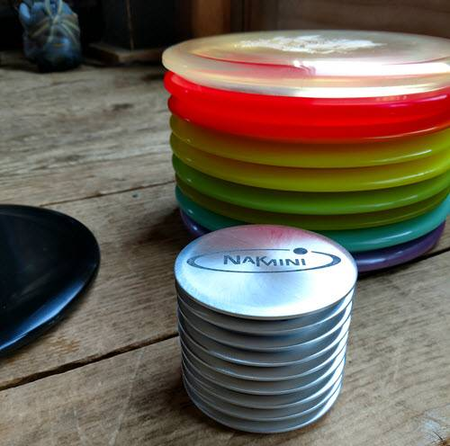 Nak custom disc golf markers