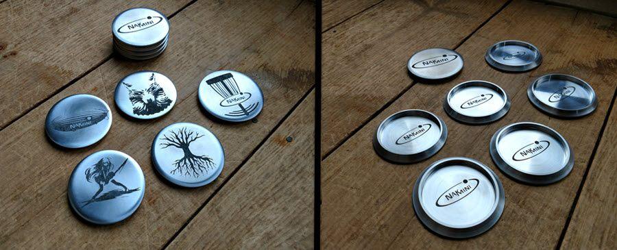 nak mini disc golf markers