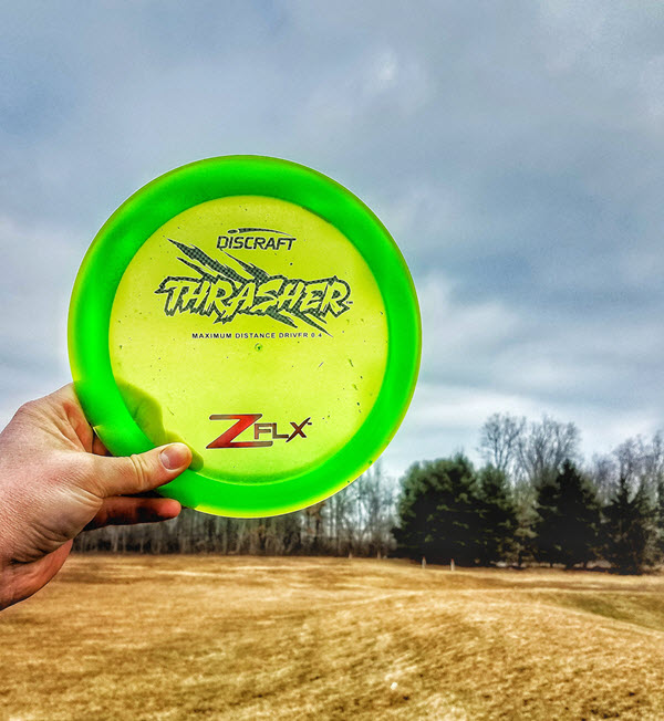 Discraft Z FLX Thrasher review