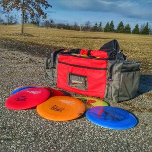 Disc Golf Field Work