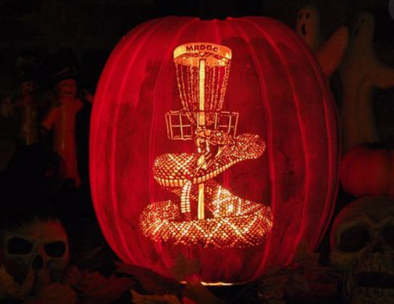 mrdgc disc golf pumpkin
