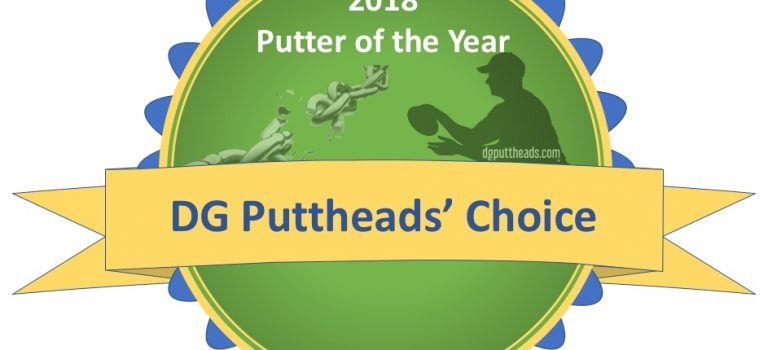 2018 Disc Golf Putter Awards